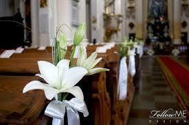 12 best Białe Dekoracje Ślubne Kościoła White Wedding Church