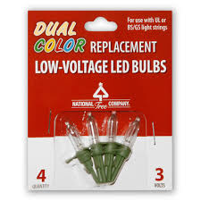 national tree company replacement dual color led bulbs rb 4lvd