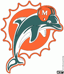 Good Miami Dolphins Coloring Pages 22 For Site With