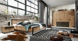 designerbett lakewood im industrial style 160x200