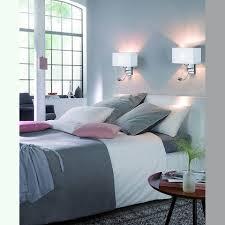 hotel wandleuchte mit leseleuchte und weißem stoffschirm 20 cm breite
