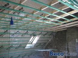 faire un faux plafond dans un grenier