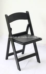 Factory Wholesale Padded Resin Folding Chair Garden Wedding Seating