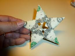 Easy Money Folded Five Pointed Origami Star