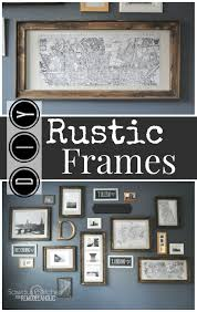 Remodelaholic   $3 DIY Rustic Frames Pottery Barn Efedesigns Tween Dreams A Black Blush Bedroom Makeover Thejsetfamily How To Get The Look Even When You Dont Have Crypton Home Launches At Accents Today My Simple Obsession Knockoff Tile Board Diy By Design Teen Inspired Style Master The Weathered Fox Best 25 Barn Kitchen Ideas On Pinterest Neutral Remodelaholic 3 Rustic Frames Pinboard I Create