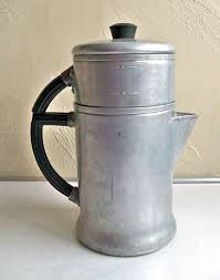 Old Fashioned Drip Coffee Pots Pot Percolator Camping Tail Gating Vintage Makers Back In