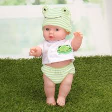 Little Babies Toy Soft Vinyl Silicone Body Newborn Baby Doll Toy