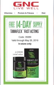FREE 14 Day Supply Of TamaFlex At GNC - Slickdeals.net Epicure Promo Code 2019 Canada The Edge Leeds Gnc Coupons Save 20 W 2014 Coupon Codes Promo Vitamin Shoppe Codes Brand Store Deals Magshop Promotion Nz Gnc Discount Uk Shopping December Coupon 10 Off May Havaianas Online 2018 Dallas Coupons Deals Mini V Nutrition Inner Intimates In Store Daria Och On Twitter When You Get Furious Bc Cant Use Off 5th Home Depot Code Decor