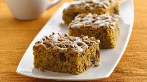 Krusteaz Pumpkin Pie Bar Calories by Pumpkin Bar Recipes Bettycrocker Com