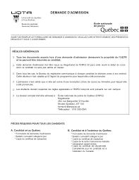bureau carte assurance maladie formulaire admission uqtr enpq