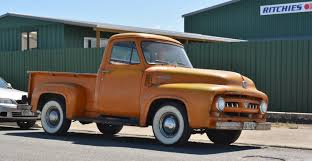 File:1953 Ford F100 (13262495705).jpg - Wikimedia Commons Before Restoration Of 1953 Ford Truck Velocitycom Wheels That Truck Stock Photos Images Alamy F100 For Sale 75045 Mcg Ford Mustang 351 Hot Rod Ford Pickup F 100 Rear Left View Trucks Classic Photo 883331 Amazing Pickup Classics For Sale Round2 Daily Turismo Flathead Power F250 500 Dave Gentry Lmc Life Car Pick Up