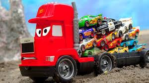 26.05 MB) Lightning McQueen Tayo The Little Bus Fire Truck Ambulance ...