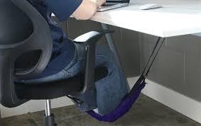 pieds de bureau le hamac de bureau c est le pied mode s d emploi