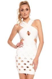 White Mesh Halloween Contacts by Bandage Dresses Colored Contacts Halloween Contacts Dress