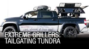 Extreme Grillers: Tailgating Tundra - YouTube Tailgating Truck Best Image Kusaboshicom Ultimate Vehicle Imagimotive Top 10 Vehicles Charleston Beer Works Tailgate Grills For Trucks In 82019 Bbq Grill Truck 1czc 733 Youtube Lsu Fire Blakey Auto Plex Dealership Blog Guide To Hottest 2016 Wheelfire Rivals Season 7 Osu Ride 1941 Flatbed Pickup Idea Ever Tailgating Convert Your Tractor Supply Custom Tailgaters The Vanessa Slideout Kitchen Is Next Level Insidehook Tv Archives Big Game Trailers