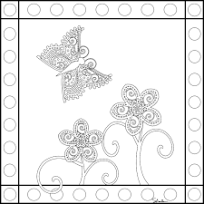Free Printable Summer Coloring Pages Modern Mandala Butterflies Via Dont Eat The Paste