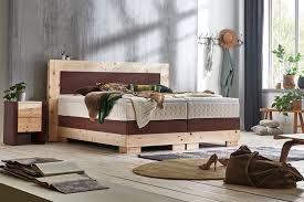 premium massivholz boxspringbett madeira zirbe