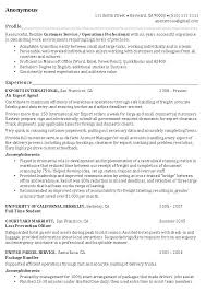 Resume Career Profile Examples Change Objective