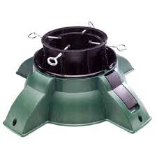 24 Heavy Duty Green Pivot Christmas Tree Stand
