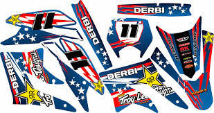 kit deco derbi senda xtreme kit déco perso 50 à boites derbi yamaha beta rd2shop fr
