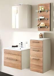 badezimmer kommode hängend viva in sonoma eiche hell badschrank 35 x 75 cm badmöbel hängeschrank