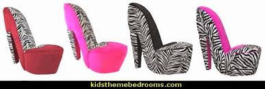 Zebra Print Adhesive Headboard Wall Decal