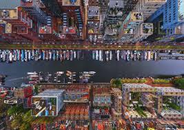 100 Birdview Bird View Of Town Wallpaper Wallpapers In Aja