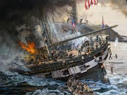 Uss America Sinking Photos by The Battle Of Hampton Roads Then U0026 Now Civil War Trust