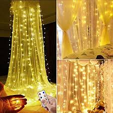 Brylane Home Lighted Curtains by Amazon Com Valuetom 304 Led Curtain Lights Fairy String Twinkle
