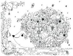 Coloring Pages For Adults Printable Animals