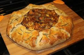 Roasted Hubbard Squash Caramelized Onion And Fontina Galette Courtesy Of The Smitten Kitchen Cookbook
