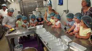 atelier cuisine en creche les enfants de la crèche participent à un atelier pâtisserie