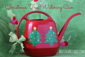 Xmas Tree Waterer by Holiday Diy Crafts Christmas Tree Watering Can Eat Move Make