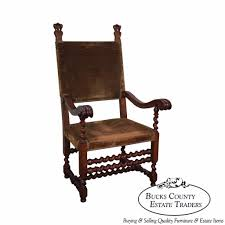 Antique 19th Century Renaissance Revival Barley Twist Throne Chair ... Upholstery Wikipedia Fniture Of The Future Victorian New Yorks Most Visionary Late Campaign Style Folding Chair By Heal Son Ldon Carpet Upholstered Deckchairvintage Deck Etsy 2019 Solutions For Your Business Payless Office Aa Airborne Chair With Leather Cover And Black Lacquered Oak Civil War Camp Hand Made From Bent Oak A Tin Map 19th Century Ash Morris Armchair Maxrollitt Queen Anne Wing 18th Centurysold Seat As In Museum On Holdtg Oriental Hardwood Cock Pen Elbow Ref No 7662