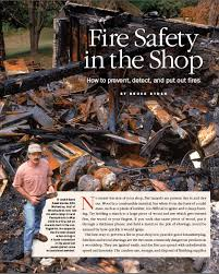 10 ways to avoid shop fires finewoodworking