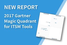 Best Help Desk Software Gartner by The 2017 Gartner Magic Quadrant For Itsm Tools Is Off The Press