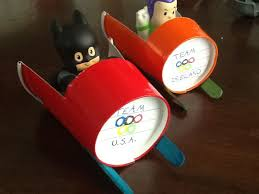 Olympic Play Paper Cup Bobsled Cool Kids Craft Idea Winter Art Project That Will Inspire
