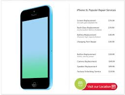 DC Cellphone Repairs iPhone 5c Glass Replacement