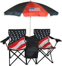 Chair Folding Twin Beach Picnic Outdoor Umbrella W Bag ...
