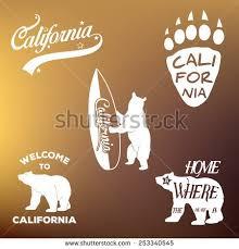 Vintage California Republic T Shirt Apparel Fashion Design And Bear Vector Illustration