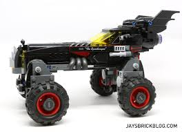 100 Monster Truck Batman Review LEGO 70905 The Batmobile Jays Brick Blog