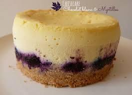 cheesecake chocolat blanc myrtilles recette avec cuisson
