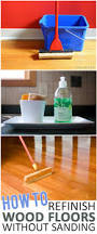 Steam Cleaning Old Wood Floors by How To Refinish Wood Floors Without Sanding Refinish Wood Floors