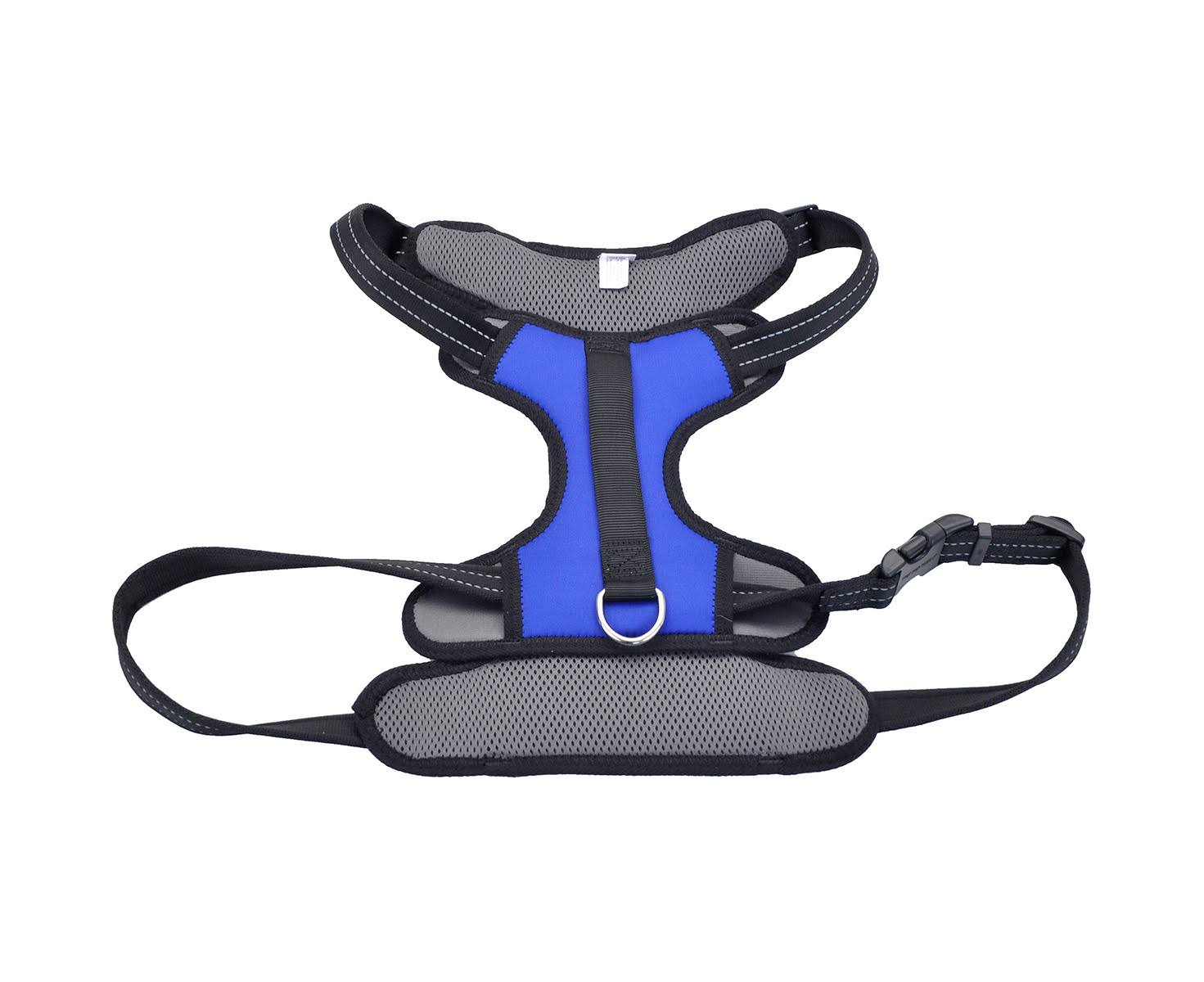 "Coastal Pet Reflective Control Handle Dog Harness - Blue, X-large, 30""-43"""