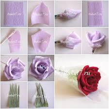 How To Make Beautiful Rose Flowers Step By DIY Tutorial Instructions Do Diy Crafts It Yourself Website