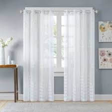Bed Bath And Beyond Semi Sheer Curtains by Buy Modern Sheer Curtain Panels From Bed Bath U0026 Beyond