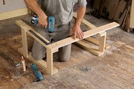 free plan sturdy sawhorses finewoodworking