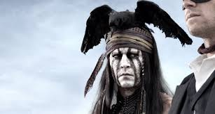 johnny depp explains his look in the lone ranger rama s screen