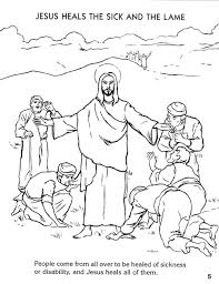Coloring Book For Jesus Preview Miracles Of Seton Educational Media