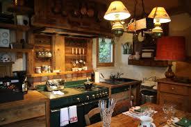 cuisine style chalet charmant linge de lit style chalet montagne 15 photo cuisine et